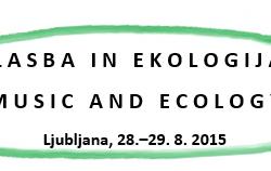 Glasba in ekologija logo