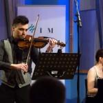 Domen Lorenz, violina  Beata Ilona Barcza, klavir (Madžarska)
